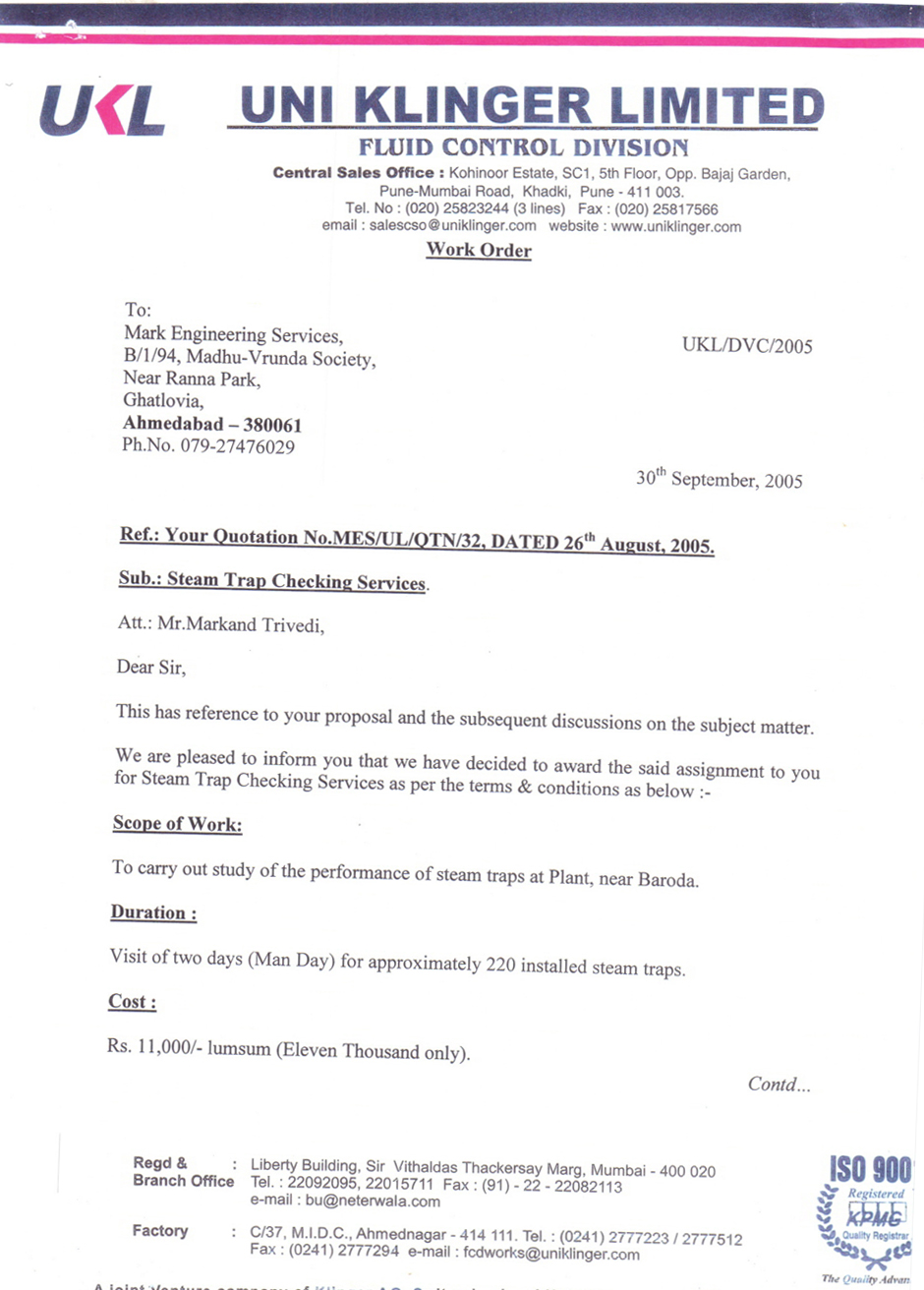 Notary Public Letter Format